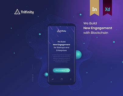 Trifinity.io — We build new engagement with Blockchain