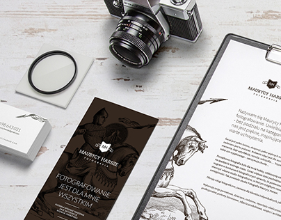 HARSZE PHOTOGRAPHY branding