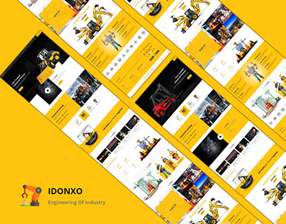 Industry Business Web Design