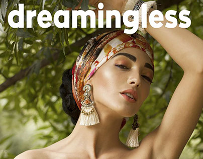Dreamingless Magazine - Cover and Editorial