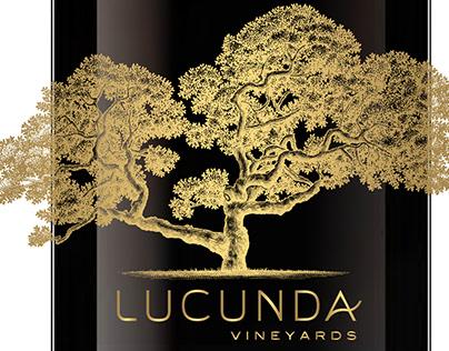 Lucunda Vineyards Label Illustrated by Steven Noble
