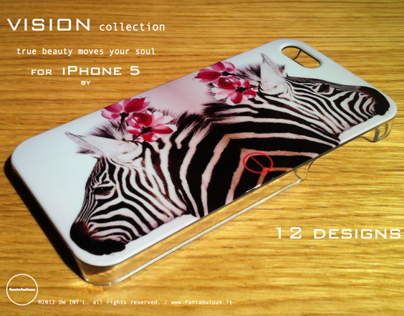 VISION collection for iPhone 5 by fantabulous.it