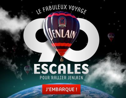 90 escales pour rallier Jenlain