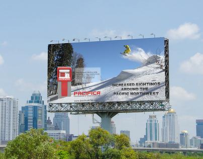 Pacifica ATM billboard