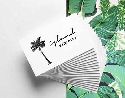 Island Espresso Logo & Branding