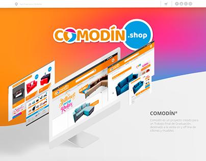 Comodín.shop | UX&UI design e-commerce