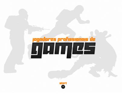 Jogadores Profissionais de Games   Hotsite