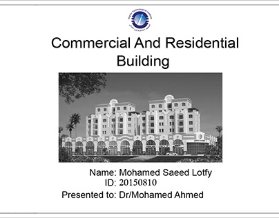 Commercial And Residential Working Project