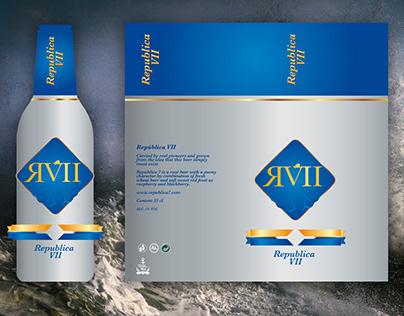 República 7 - aluminium beer bottle, design proposal