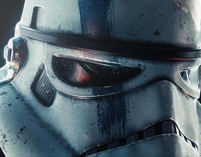 CGI Stormtrooper Helmet