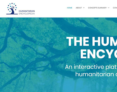 Humanitarian Encyclopedia website