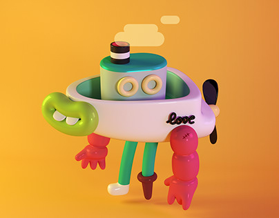 3D Characters to Brosmind