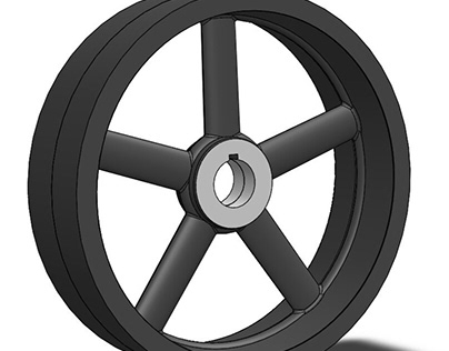 Layout method of Wheel Casting and Machining