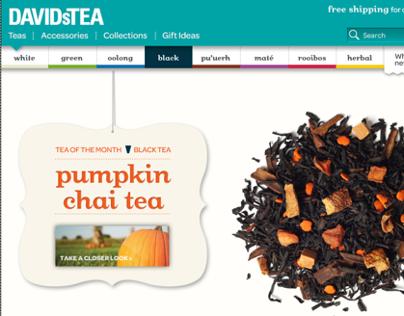 DAVIDs TEA (E-commerce)