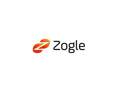 Zogle Logo Design-Modern Z letter logo