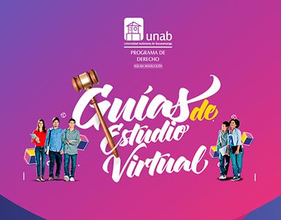 Nuevas guías de estudio virtual UNAB