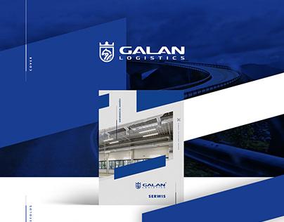 Galan Logistics - layout design