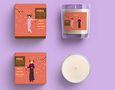 Candle Package-New year