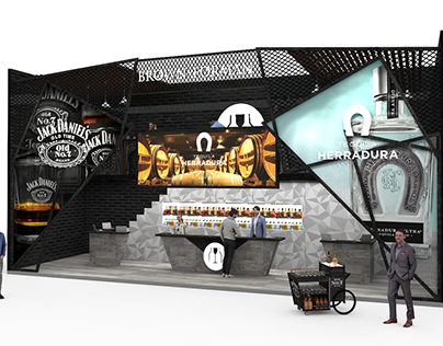 STAND BROWN-FORMAN 12 X 4