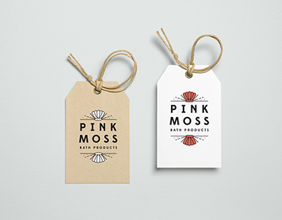 Pink Moss Bath Products