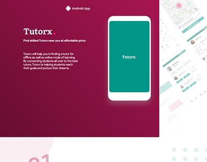 Android Presentation Tutorx