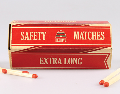 Beehive Safety Matches - Repackage
