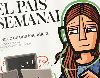 El País Semanal. Magazine Cover and illustrations.