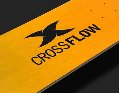 CrossFlow - Logo Design