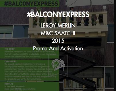 LEROY MERLIN \ #BalconyExpress
