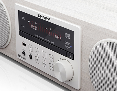 Sharp | Hi-Fi Audio System BB20D | CGI