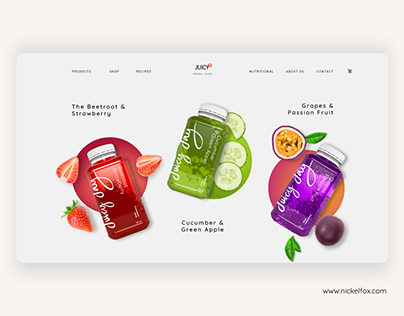 Fresh Juice Website