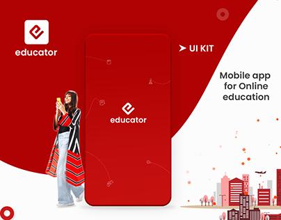 Educator | Mobile App | UI/UX
