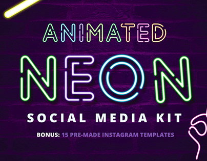 NEON ONE - FREE NEON STYLE FONT