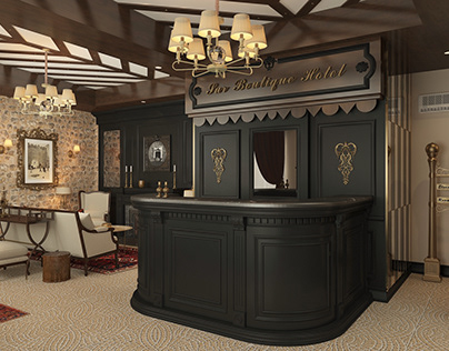 Hotel Reception Design