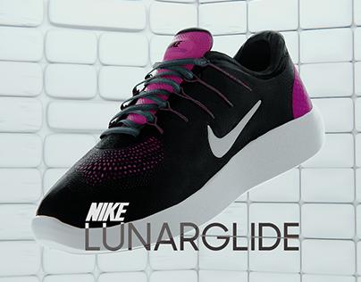 Nike Lunarglide Ad (3D Motion)