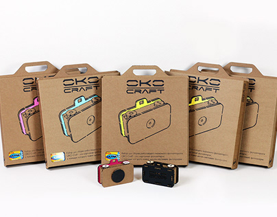 OKO Craft: cardboard pinhole camera