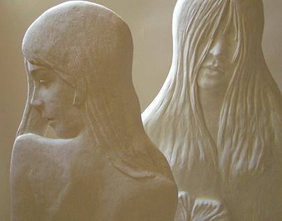 mermaids // sculptor HALINA SHAMARA