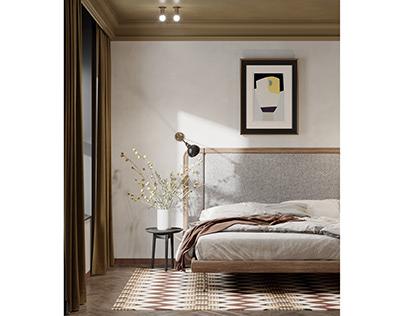 Einstein bedroom