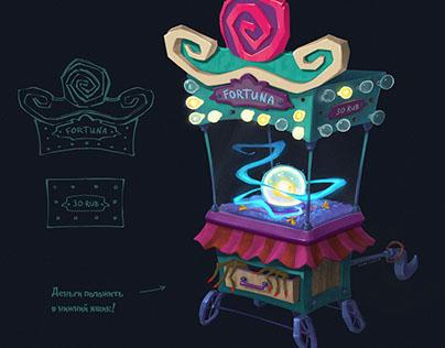 Fortune Teller's Cupboard