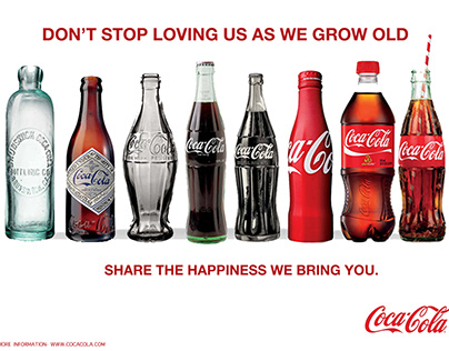 Coca Cola old age advertising campaign