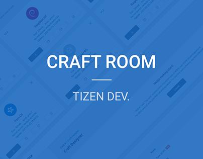 Samsung Craftroom Web Design