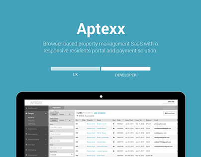 Aptexx UX Project