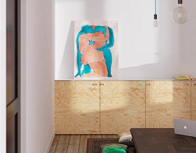 Small studio apartment in Bordeaux