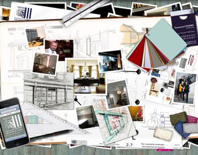 Communication globale pour Emmanuel PIERRE ARCHITECTURE