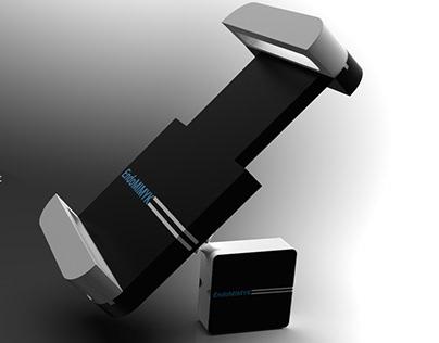 Tablet Holder for Medical Simulation Device