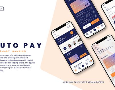 PlutoPay. Mobile Banking App. UX Case Study
