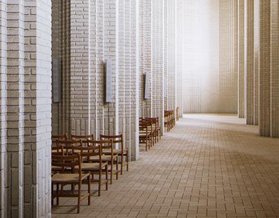 Grundtvig's Church CGI