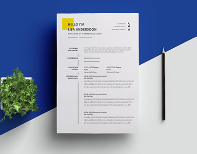 Free Director of Communications Resume Template