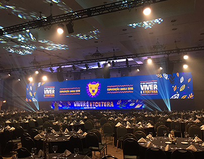 PowerPoint que criei para Premiação da Convenção 2018