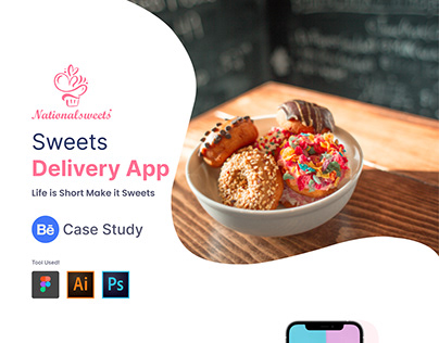 Sweet's Delivery Mobile App | UI/UX Case Study
